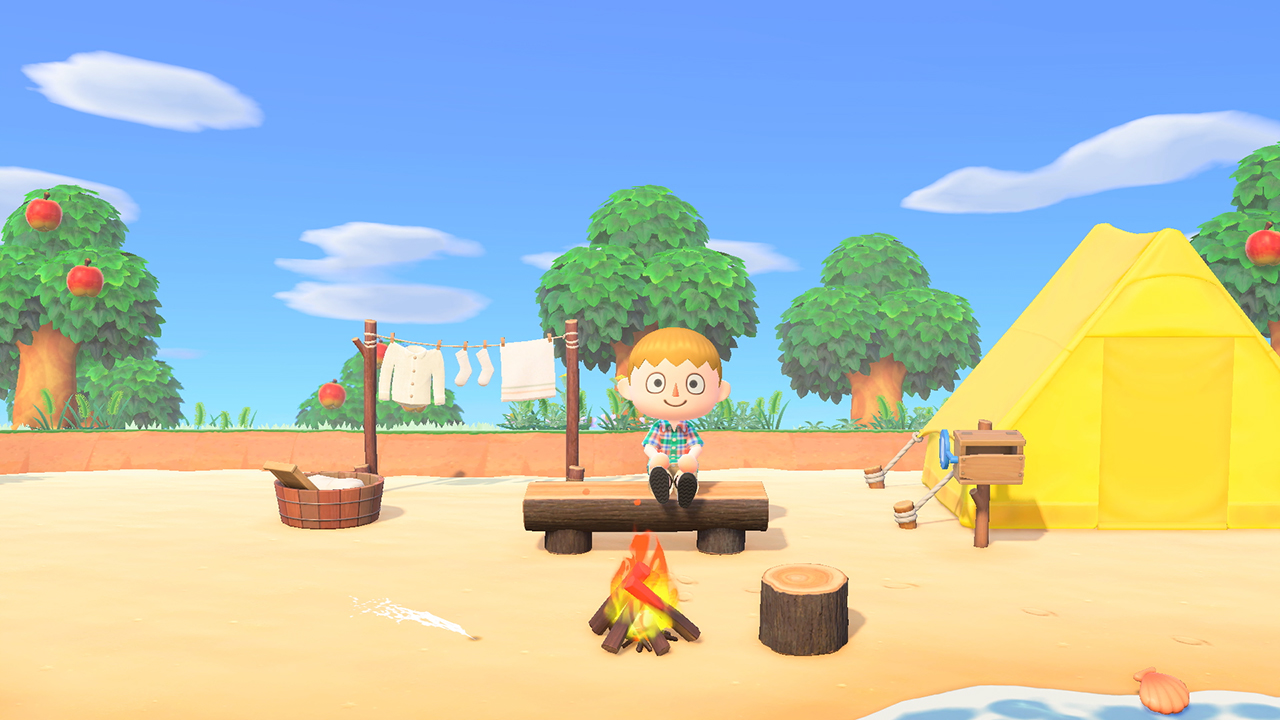 Animal Crossing: New Horizons game screenshot